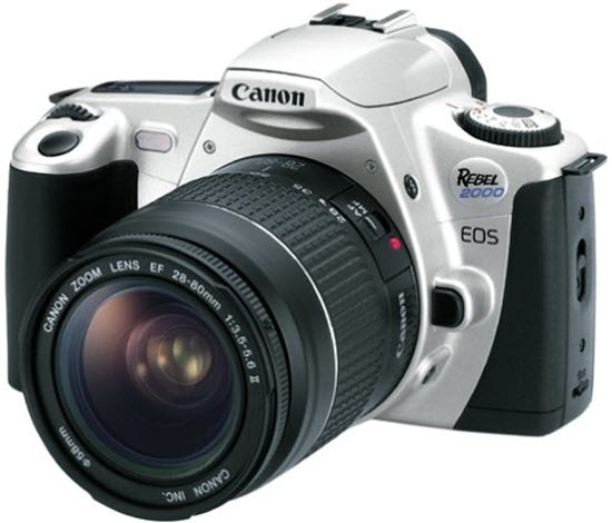 Canon EOS 2000 35mm Film Camera