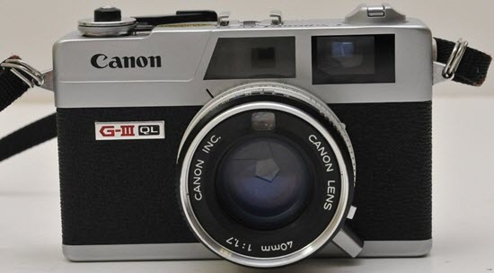 Canon G III 35mm Film Camera