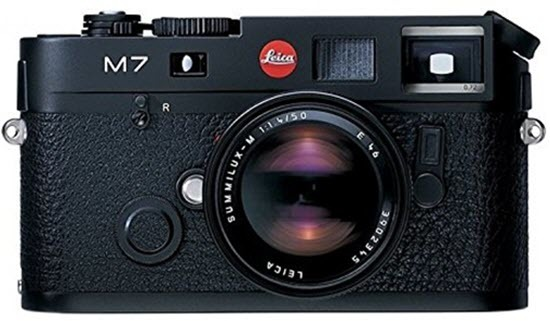 Leica M7 35mm Film Camera