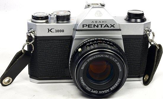 Pentax K1000 35mm Film Cameras