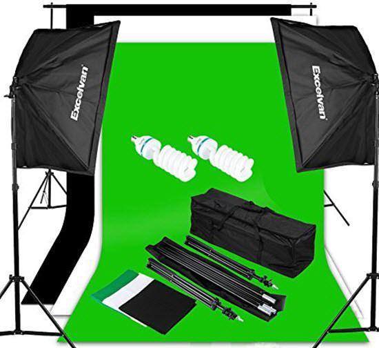 Excelvan Photography Studio Lighting Kit