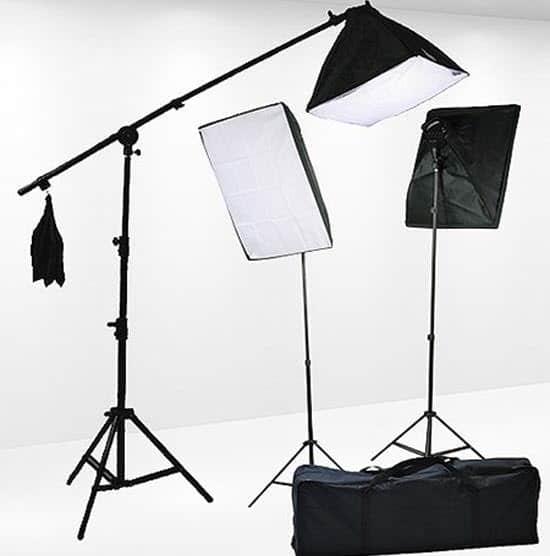 Fancierstudio Photography Studio Lighting Kit