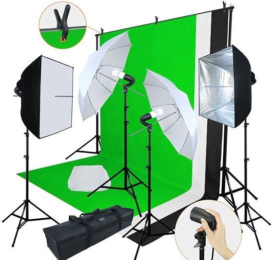 Linco Photography Studio Lighting Kit