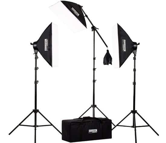 Fovitec Photography Studio Lighting Kit