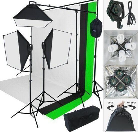 Lincostore Photography Studio Lighting Kit