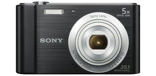 Sony DSCW800 Best Vlogging Cameras Under $100